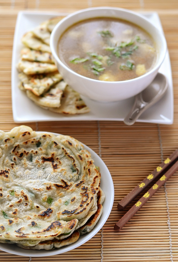 Easy Scallion Pancakes