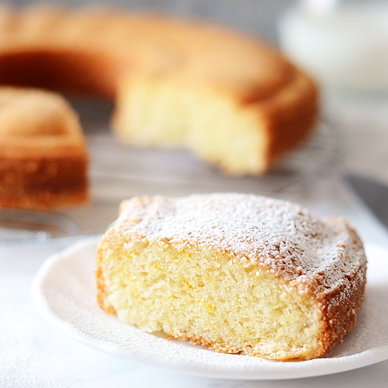 Sponge Cake Without Eggs And Milk