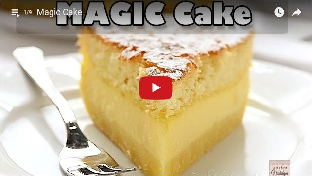 Magic Cake video