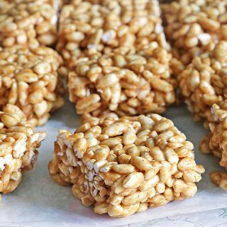 Vegan Rice Crispy Treats