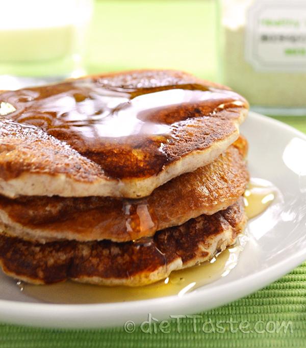 Healthy Bisquick Pancakes - from diettaste.com