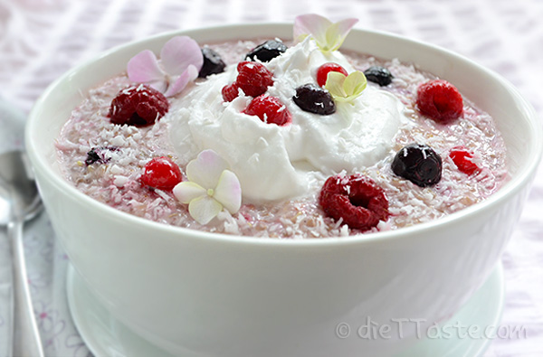 Quinoa Porridge - healthy and nutritious breakfast; an alternative to oatmeal