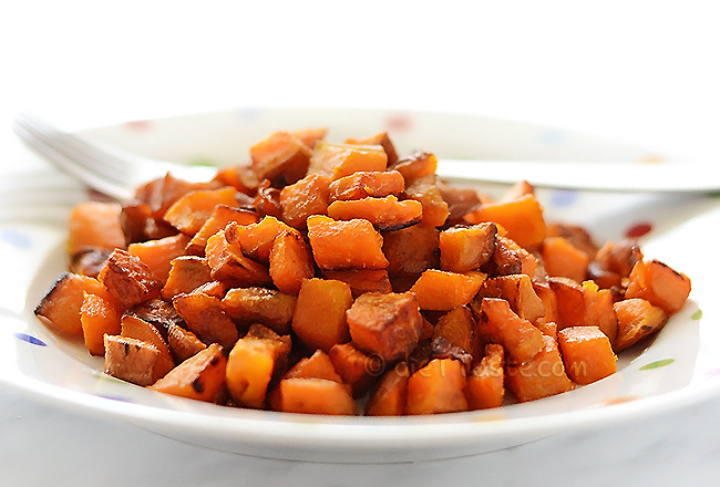 Sweet Potato Hash - diettaste.com