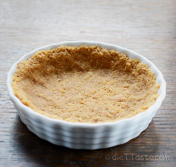 Graham Cracker Pie Crust - low-fat, healthy