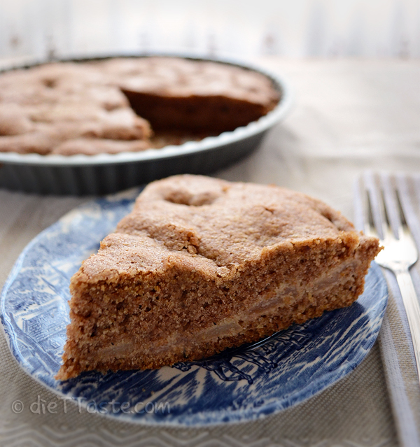 Whole Wheat Apple Cake - diettaste.com