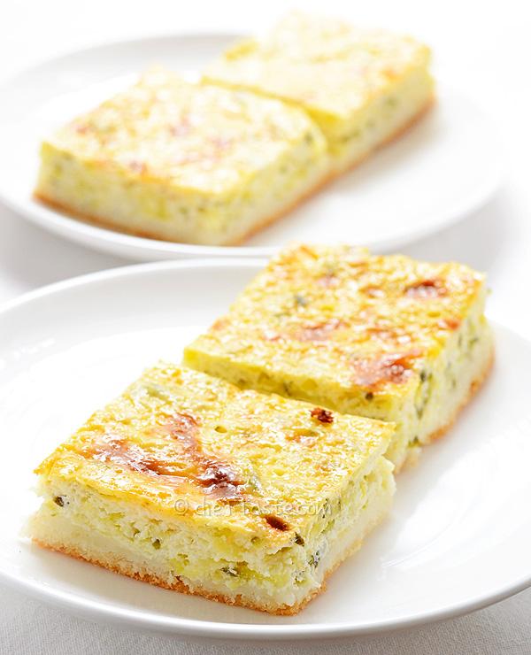 Zucchini Cheese Pie - diettaste.com