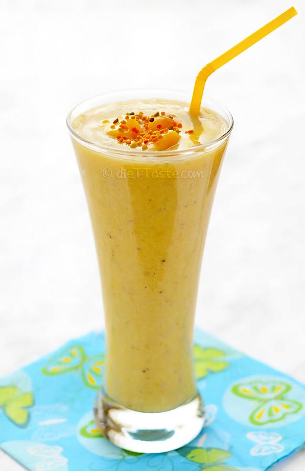 Amazing Mango Smoothie - diettaste.com