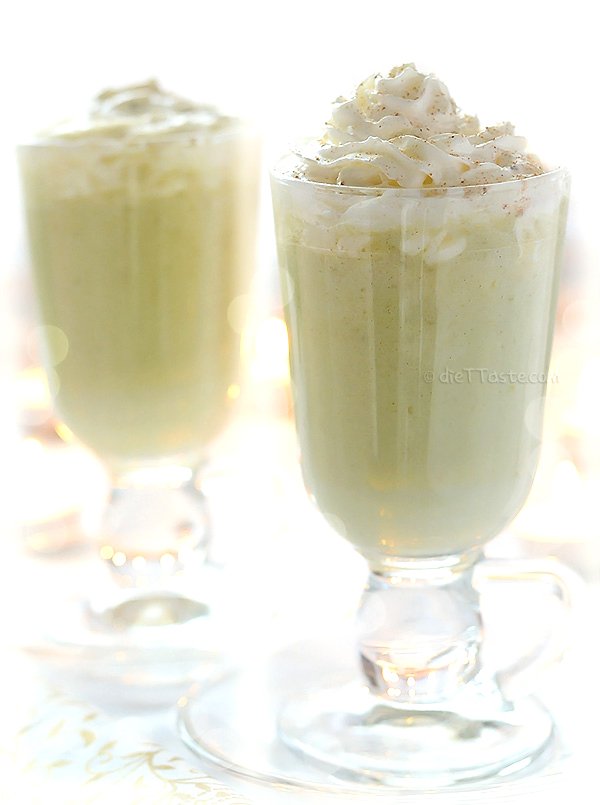 Avocado Nog - diettaste.com