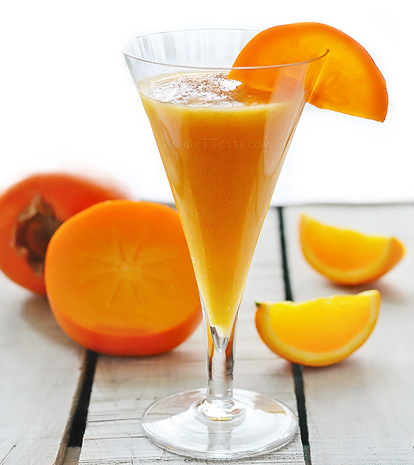 Persimmon Orange Smoothie - diettaste.com