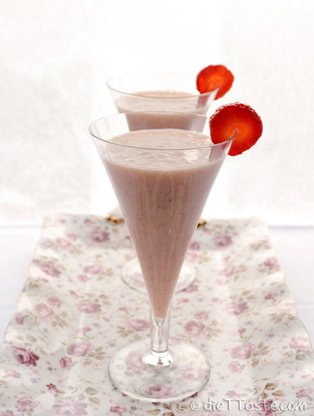 Strawberry and Banana Smoothie