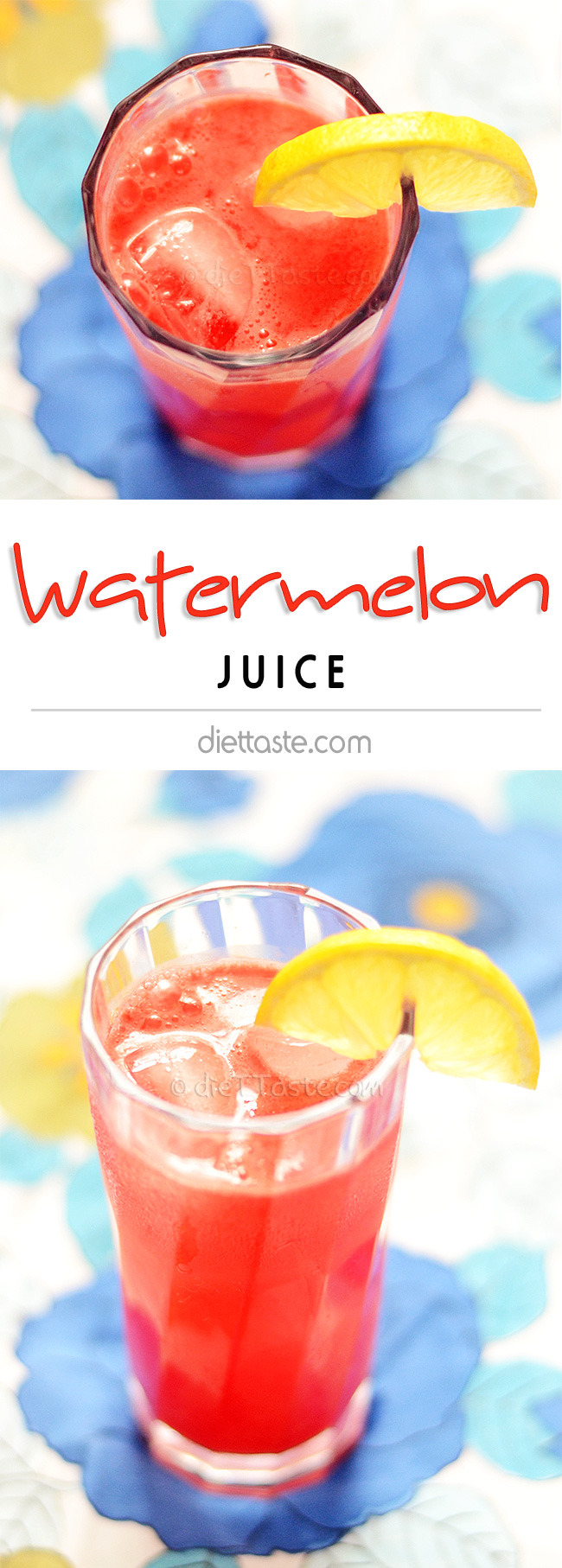 Watermelon Juice - diettaste.com