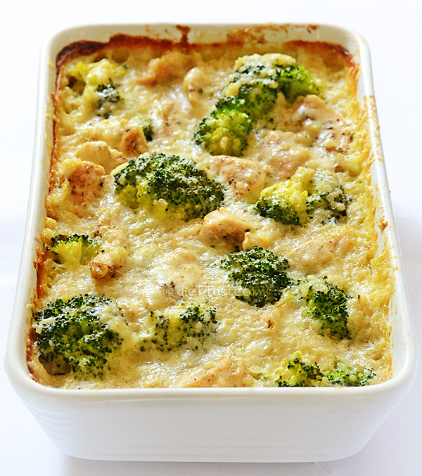 Chicken, Quinoa and Broccoli Casserole - diettaste.com