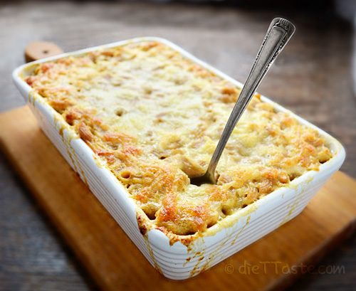 Sweet Potato Macaroni and Cheese