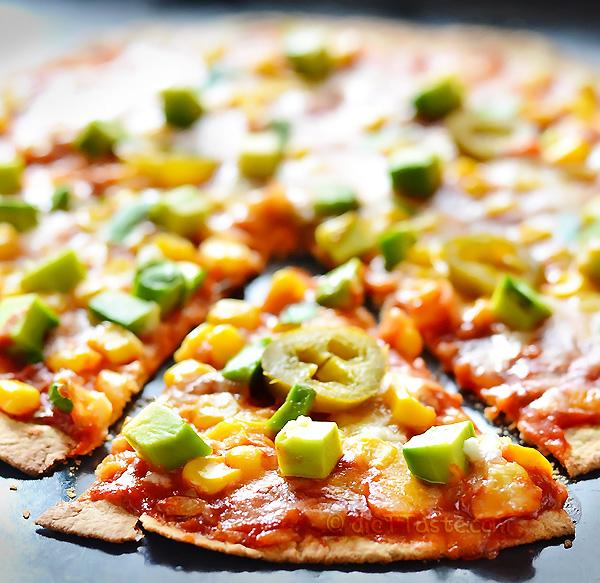 Tortilla Pizza- diettaste.com