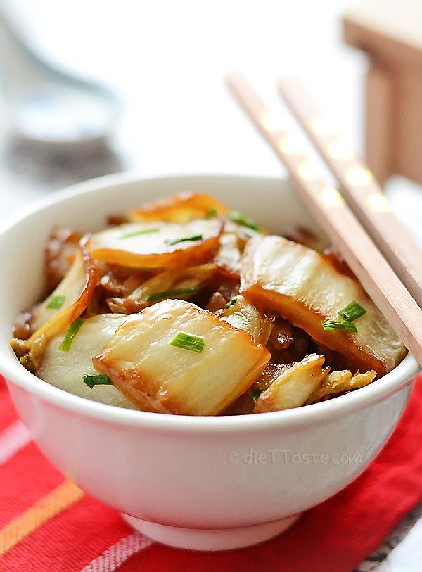 Napa Cabbage Stir Fry - diettaste.com