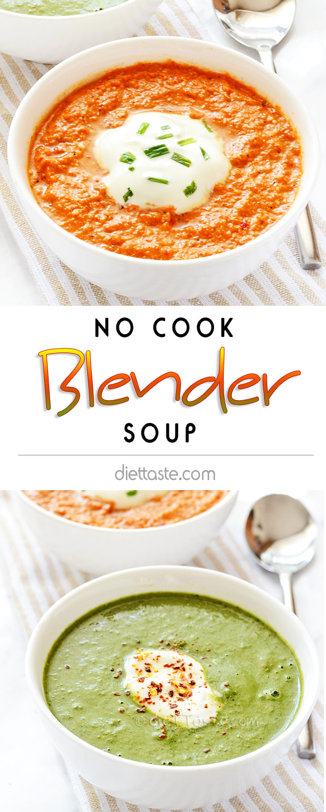 No Cook Blender Soup