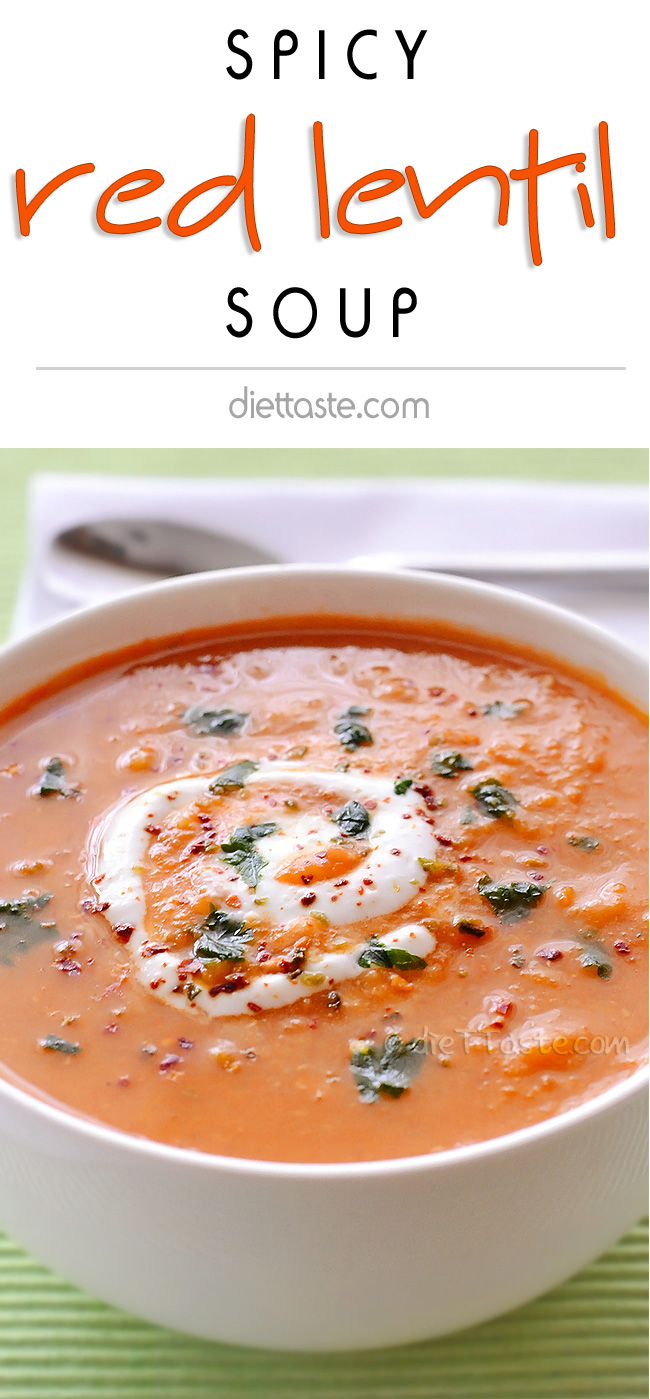 CSpicy Red Lentil Soup