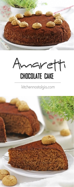 Easy Amaretti Chocolate Cake