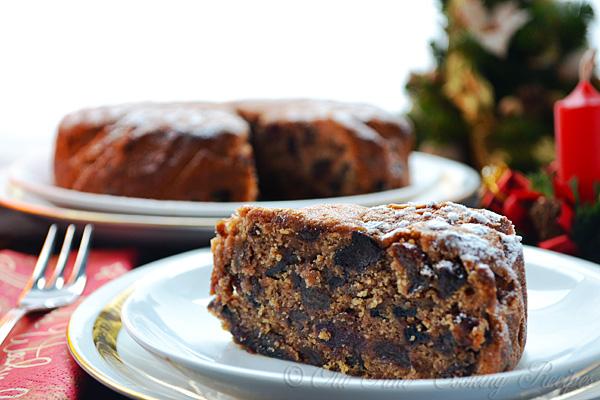 Jamaican Christmas Fruit Cake