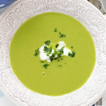Green Pea Soup (vegetarian)