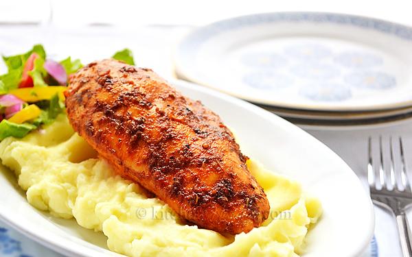 Easy Baked Chicken Breast