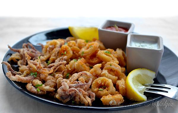 Flour Fried Calamari