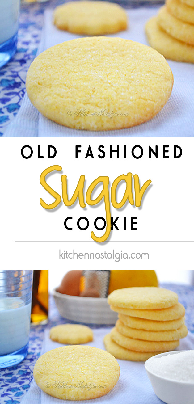Old Fashioned Sugar Cookie