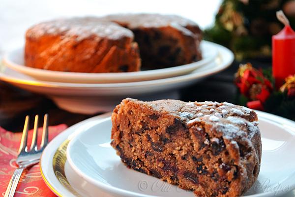 Christmas Fruit Cake.Jamaican Christmas Fruit Cake Recipe