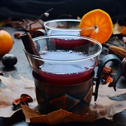 Mulled Cranberry Juice Recipe