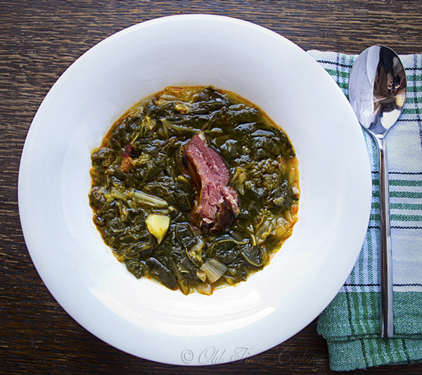 Rastika - Croatian Collard Greens Soup
