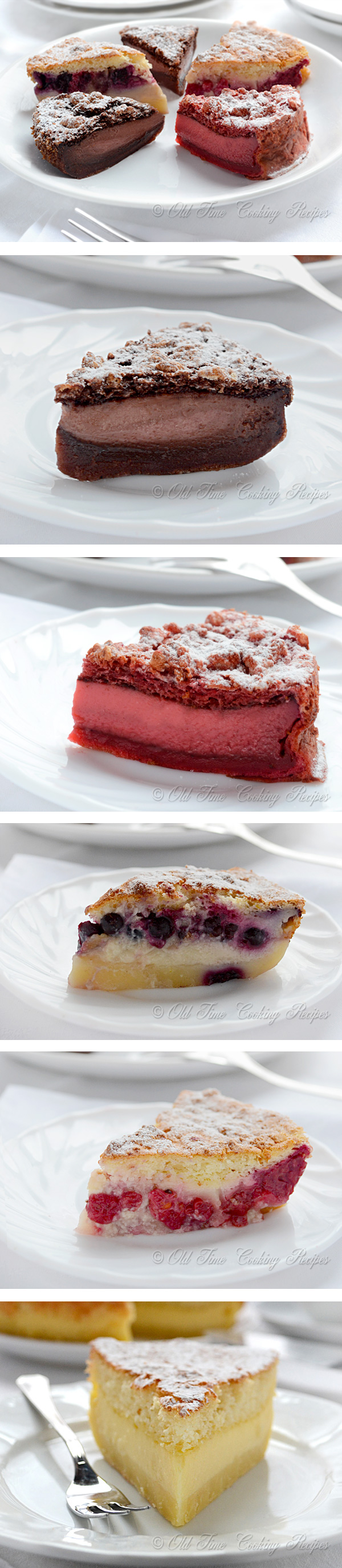 Magic Cake, Part II - Chocolate, Red Velvet, Fruit