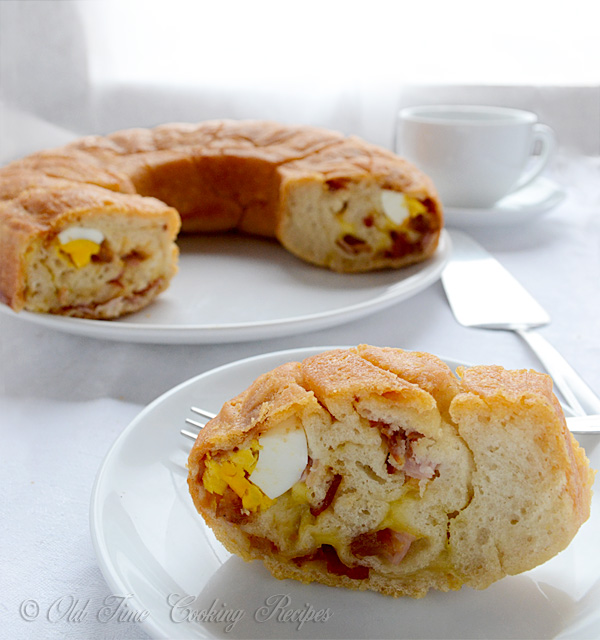 Tortano or Casatiello- Italian Easter Bread