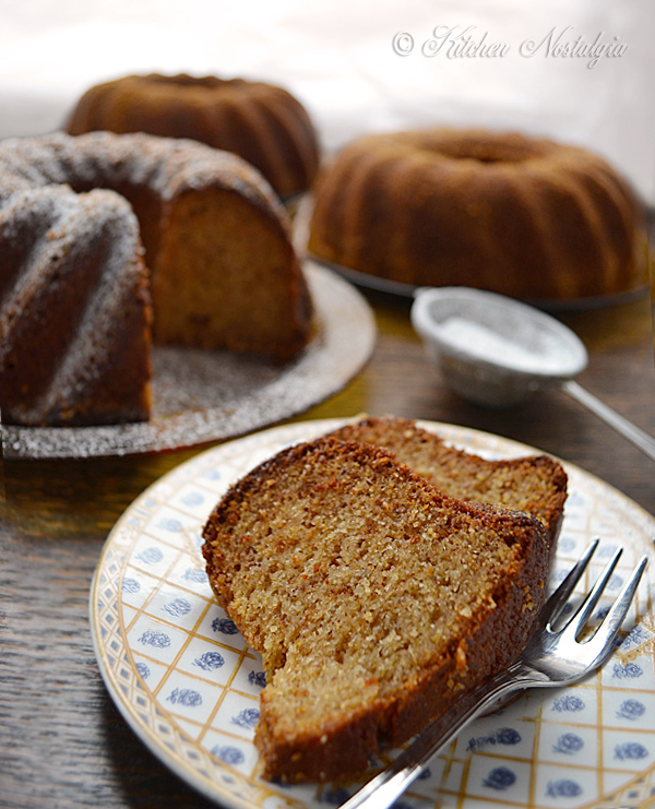 Hazelnut Bundt Cake