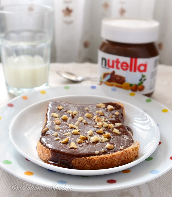 Healthified Nutella - from kitchennostalgia.com