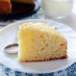 Vanilla Eggless Cake
