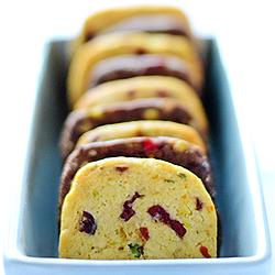 Cranberry Pistachio Orange Cookies