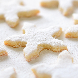Melting Snowflakes Cookies