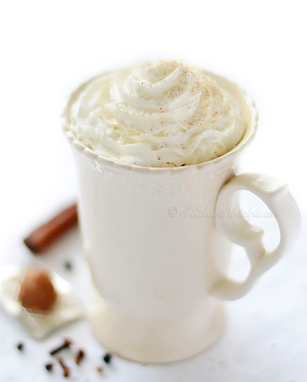 Chai Tea Latte - kitchennostalgia.com