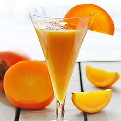 Persimmon Orange Smoothie