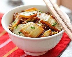 Napa Cabbage Stir Fry