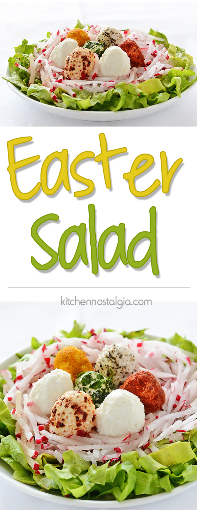 Easter Salad - kitchennostalgia.com