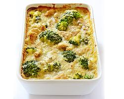 Chicken, Quinoa and Broccoli Casserole