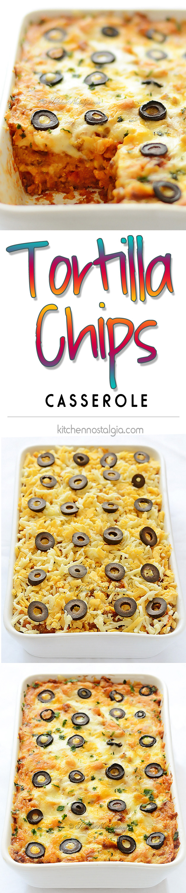 Tortilla Chips Casserole