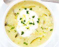 Zucchini Rice Soup