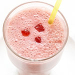 Almond Milk Strawberry Smoothie