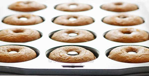 Pumpkin Churro Doughnuts - kitchennostalgia.com