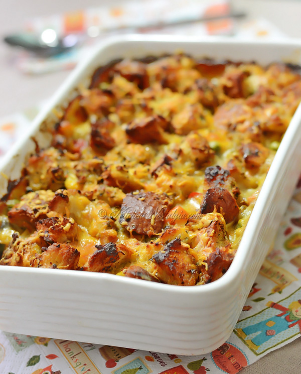 Stove Top Chicken Bake - kitchennostalgia.com