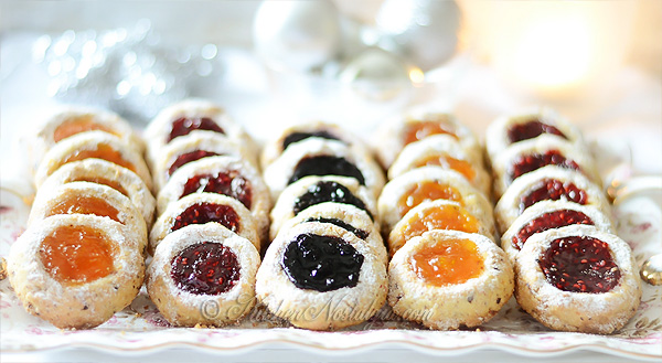 Thumbprint Cookies - KitchenNostalgia.com