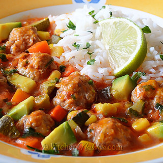 Albondigas – Mexican Meatball Soup