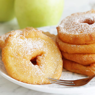 How to Make APPLE FRITTERS